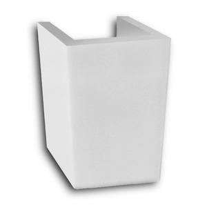Coluna Suspensa  para Lavatório Eros Branco  Incepa