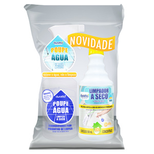 Combo Poupe Água para Pisos Frios 500ml Duratto