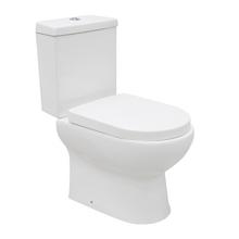 Combo Vaso Sanitário com Caixa Acoplada 3/6L Rodas Branco Sensea
