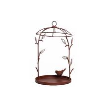 Comedor para Pássaros Ferro 35cm Marrom