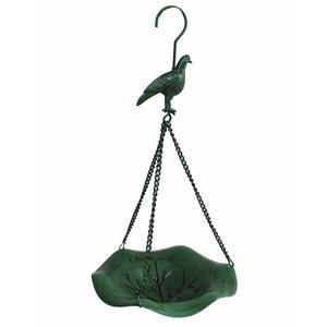 Comedor para Pássaros Aço 39,50x18,50x18,50cm Verde