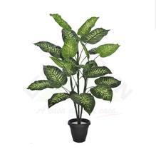 Comigo Ninguém Pode Verde com Vaso 100cm Florarte