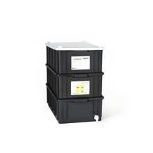 Composteira Plástica 39L
