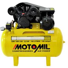 Compressor AirPower CMV10PL/100 127/220V (110V) Motomil