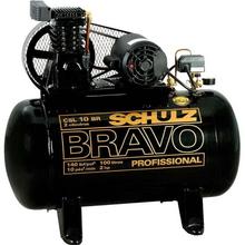 Compressor CSL 10 Br/100L Bravo 140 Psi 2Hp Trifásico Schulz