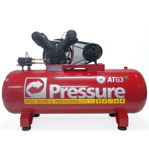 Compressor de Ar 20/200V 5hp ATG3 Monofásico Pressure