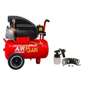 Compressor de Ar AirPlus Adventure MSI 7,6/22 1,5HP 220V Schulz