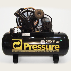 Compressor de ar ON 20 200 VT 5Hp 200l Trifásico Pressure