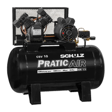 Compressor de Ar Pratic Air CSV 10/100 2HP 127V (110V) Schulz