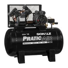 Compressor de Ar Pratic Air CSV 10/100 2HP 127V (110V) Schulz