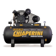 Compressor Linha Industrial 175psi 5Hp Trifásico Chiaperini
