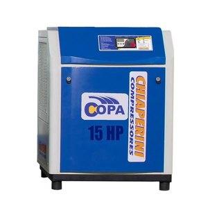 Compressor de ar Parafuso Rotativo Copa 15 Pressão 188psi Motor Eletrico 15Hp 230V Chiaperini