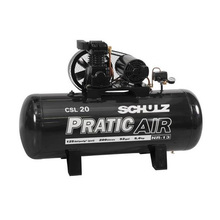 Compressor Pratic Air 20/220L 220/380V Schulz
