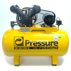 Compressor SE 20/150 5Hp 220V Trifásico Pressure