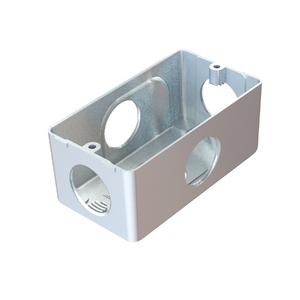 "Condulete Múltiplo Alumínio 3/4 Tipo ""X"" Daisa"