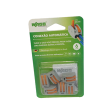 Conector de Emenda Bipolar 4mm Wago
