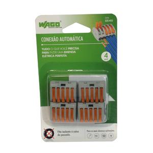 Conector de Emenda Pentapolar 4mm Wago