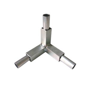 Conexão Alumínio 3 Saídas 20x20mm