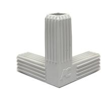 Conexão PVC 2 Saídas 20x20mm Cinza