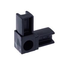 Conexão PVC 2 Saídas 20x20mm Preto