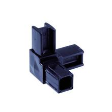 Conexão PVC 3 Saídas 20x20mm Preto