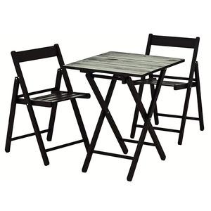 Conjunto Aconchego 1 Mesa e 2 Cadeiras Tabaco Tramontina