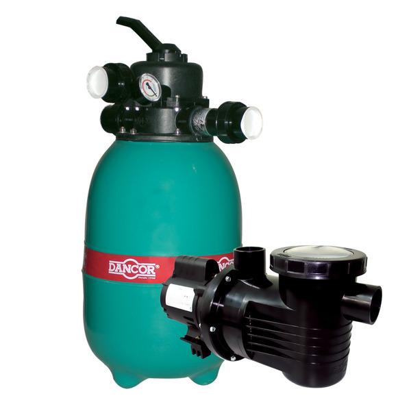 Conjunto bomba filtro dfr 12 areia bivolt dancor for Bombas leroy merlin