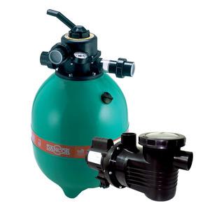 Conjunto Bomba + Filtro DFR-15 + Areia Bivolt Dancor