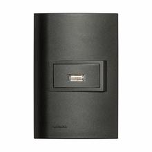 Conjunto de Carregador USB 1,5A Vivace Carbono Simens