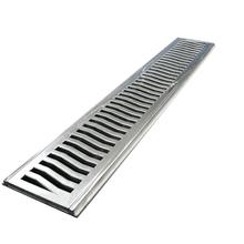 Conjunto de Grelha Elegance e Super Reforçado Alumínio Polido 16,7x50,0x1,7cm
