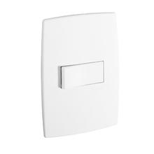 Conjunto de Interruptor de Simples Branco Pial Plus Pial Legrand