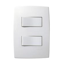Conjunto de Interruptor Simples 10A Branco Pial Plus Pial Legrand