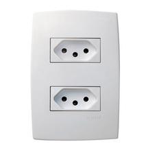 Conjunto de Interruptor Simples Branco Pial Plus Pial Legrand