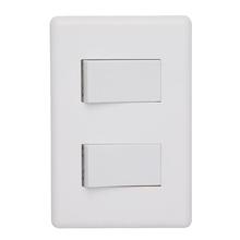Conjunto de Interruptor Simples Branco Stella Steck