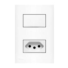 Conjunto de Interruptor Simples Impéria Iriel