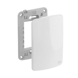 Conjunto de Placa+Suporte 4x2 CEGA Composé Branco WEG