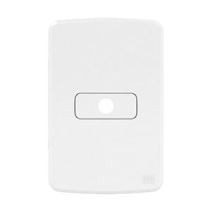 Conjunto de Placa+Suporte 4x2 Composé Mod/Saida de Fio Branco WEG
