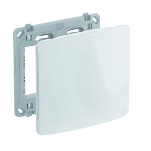Conjunto de Placa+Suporte 4X4 Cega Composé Branco WEG