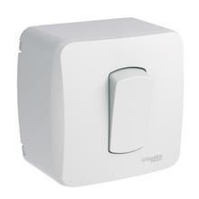 Conjunto de Sobrepor 1 Interruptor Simples 10A Miluz Schneider