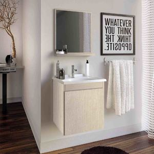 Conjunto para Banheiro Slin 45x41x34,5cm Rovere Gaam