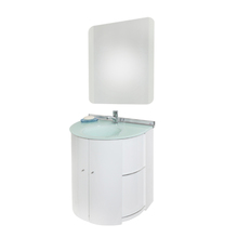 Conjunto para Banheiro Space 60x43cm Branco Cris Metal