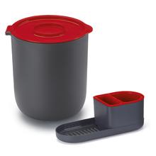 Conjunto para Pia Lixeira e Porta Detergente Vermelho By Arthi