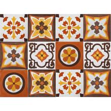 Conjunto Patchwork Arabesco com 10 peças 20x20cm Cimartex