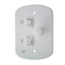 Controle para Ventilador de Teto 4x2 220V PW Eletronica