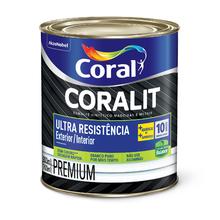 Esmalte Premium Coralit Ultra Resist Balance Branco Acetinado 0,8L Coral