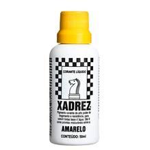 Corante Líquido Globo para Pigmentar Tinta Frasco 50 ml Xadrez Amarelo