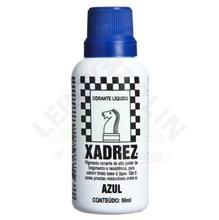 Corante Líquido Globo para Pigmentar Tinta Frasco 50 ml Xadrez Azul