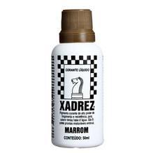 Corante Líquido Globo para Pigmentar Tinta Frasco 50 ml Xadrez Marrom