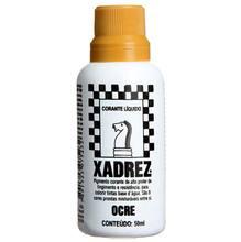 Corante Líquido Globo para Pigmentar Tinta Frasco 50 ml Xadrez Ocre