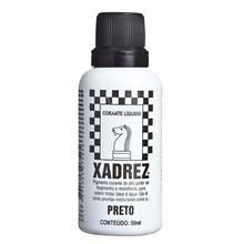 Corante Líquido Globo para Pigmentar Tinta Frasco 50 ml Xadrez Preto